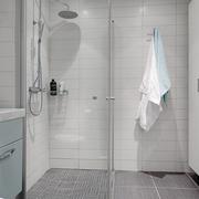 白色北欧两居案例设计欣赏卫生间吊顶