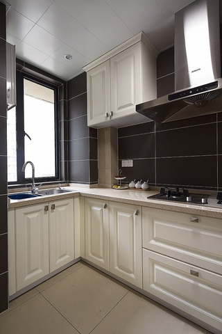 97平美式三居室欣赏厨房橱柜