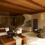 东南亚风格效果图休息厅设计