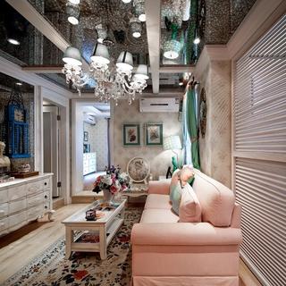 奢华欧式精装住宅欣赏客厅吊顶