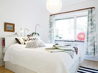 57平一室一厅北欧欣赏卧室