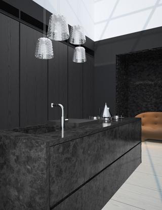 89平白色现代风住宅欣赏厨房灯饰