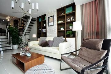 125平现代跃式住宅欣赏