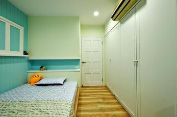 乡村田园风格住宅欣赏卧室效果