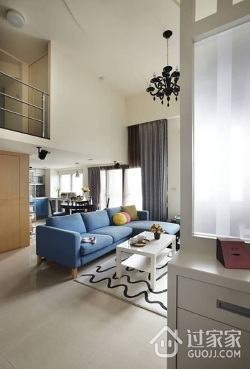 60平实用复式住宅欣赏