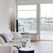 100平现代简约三居室欣赏