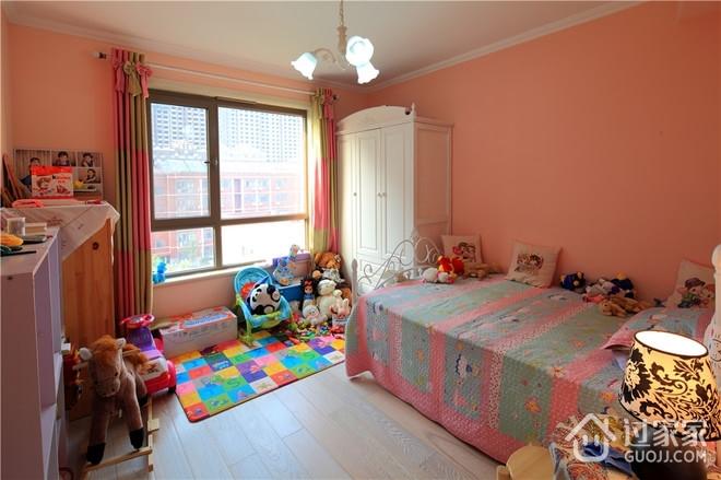 混搭风格时尚住宅欣赏儿童房