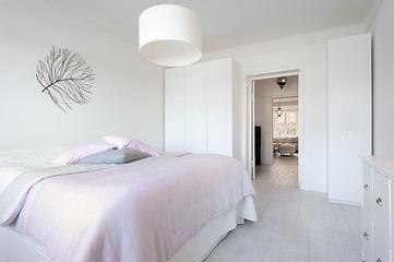 简约风格住宅效果图设计卧室