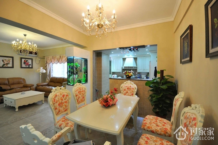 102平美式三居室欣赏