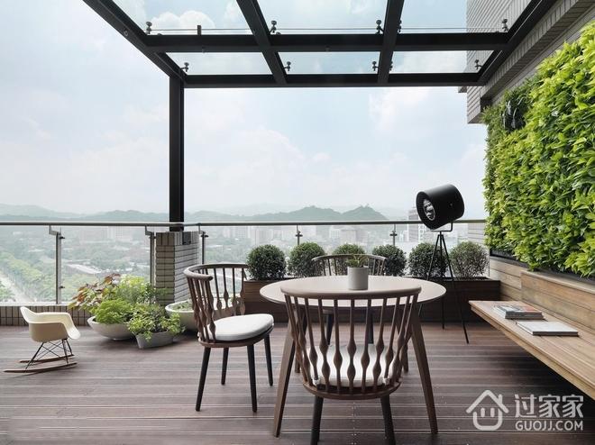 大气质感现代豪宅欣赏露台