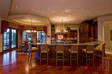 美式奢华别墅装饰赏析厨房