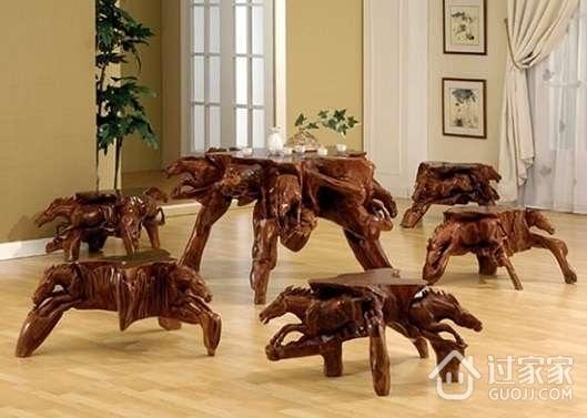 教您如何保养根雕家具