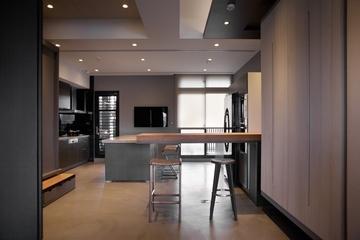 现代风格住宅套图设计吧台