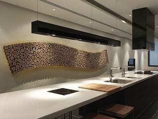 现代风格白色别墅空间欣赏厨房