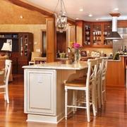 美式乡村风格别墅设计套图厨房