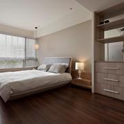 现代简约风 卧室窗户装修效果图