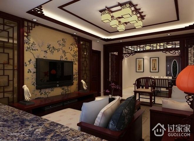 中式古典三居室欣赏