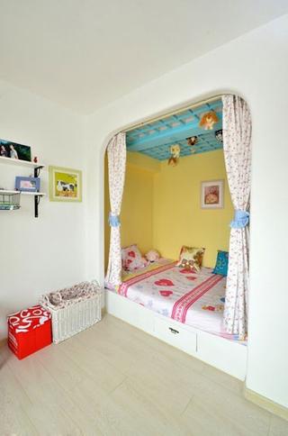 77平浪漫地中海住宅欣赏卧室效果
