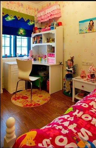 88平美式风三居欣赏儿童房
