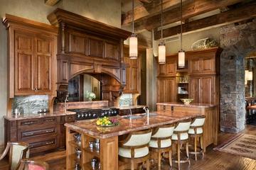 美式别墅装饰效果套图欣赏厨房