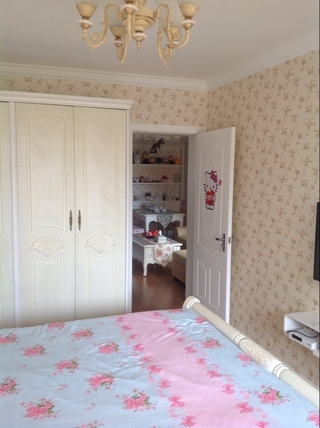 62平田园两居住宅欣赏卧室室内门