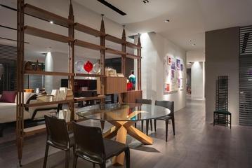 现代风大宅大设计欣赏餐厅