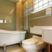 现代简约公寓套图卫浴间