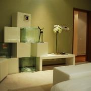 新中式风格卧室背景墙造型