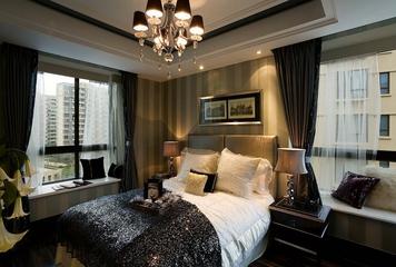 欧式高贵三居室欣赏卧室飘窗