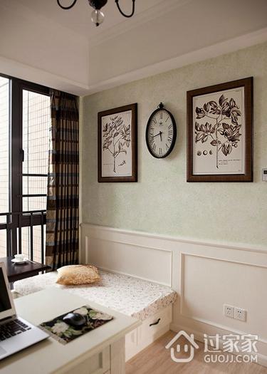 美式卧室照片墙装饰图 浪漫家居