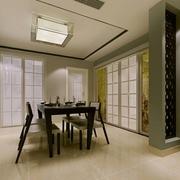82平简约温馨住宅欣赏餐厅设计