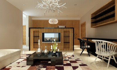 小户型的春天设计欣赏客厅