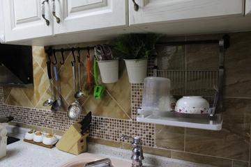 89平简欧三居室欣赏厨房陈设