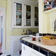 波西米亚单身一居室欣赏厨房