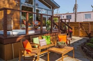 现代风格住宅装饰图花园摆设