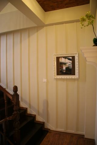 田园别墅设计楼梯装修效果图