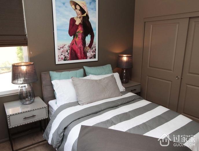 简约装饰复式效果欣赏卧室效果图