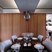 简约暗黑设计效果图欣赏餐厅
