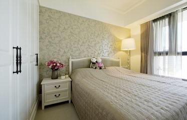 78平温馨美式两居室欣赏卧室