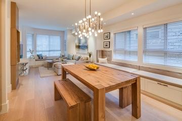 现代风格住宅效果图餐桌