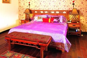 东南亚别墅装修卧室设计