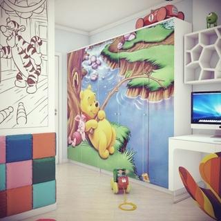 简约120平梦幻住宅欣赏儿童房设计