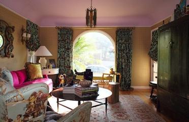 异域风情混搭住宅欣赏客厅窗帘