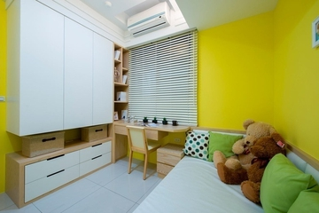 简约舒适小两居案例欣赏儿童房效果