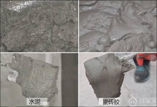 墙面贴瓷砖:瓷砖胶和水泥哪个更牢固