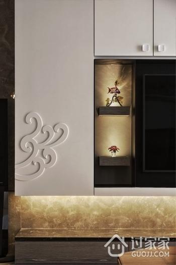 88平现代两居住宅欣赏卧室衣柜