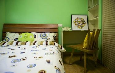 简约多彩两居室欣赏卧室背景墙