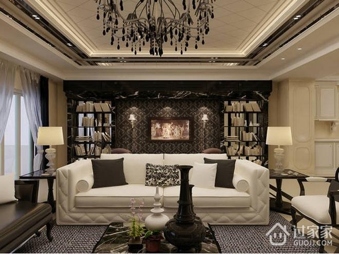 130平质感新古典住宅欣赏