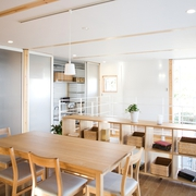 日式MIUI清爽住宅欣赏餐厅