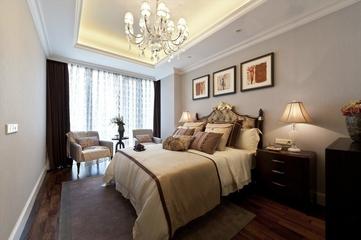 新古典大宅设计欣赏卧室陈设